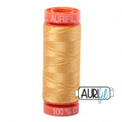 Aurifil 50 Cotton Thread - 2134 (Spun Gold)